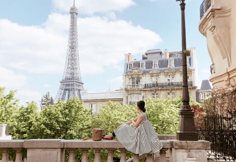Parisでインスタ映えするエッフェル塔の撮り方♡