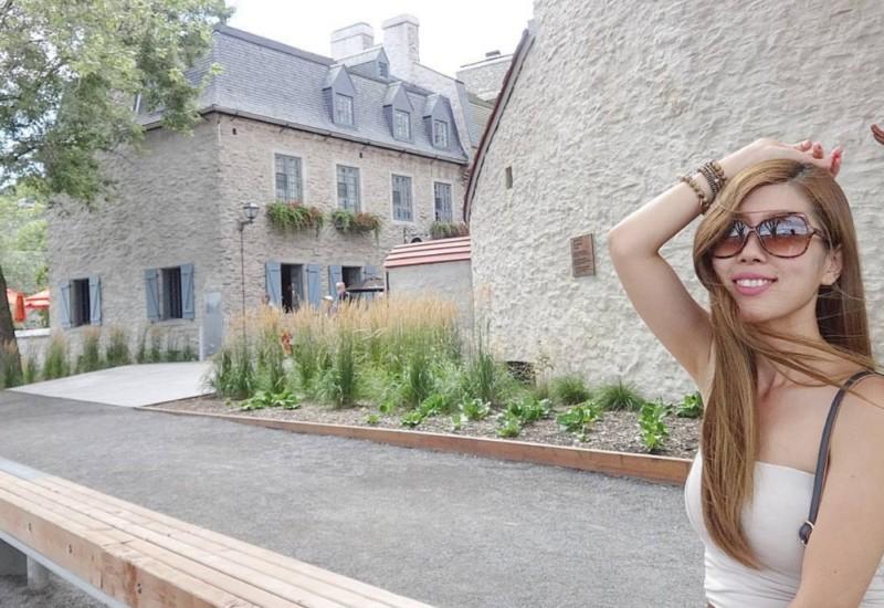 北米のパリ♡   【オールドケベック】で気分はすっかり不思議の国のアリス♡