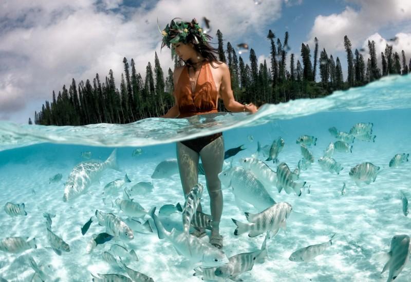 【ニューカレドニア】天然プールと言われるピッシンヌナチュレルに