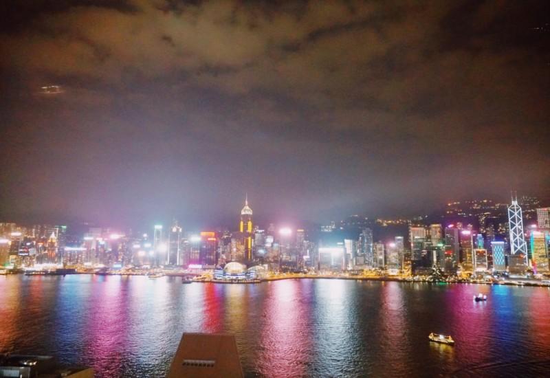 【香港】光のショーも中華料理も楽しめる贅沢ディナーはここで!!
