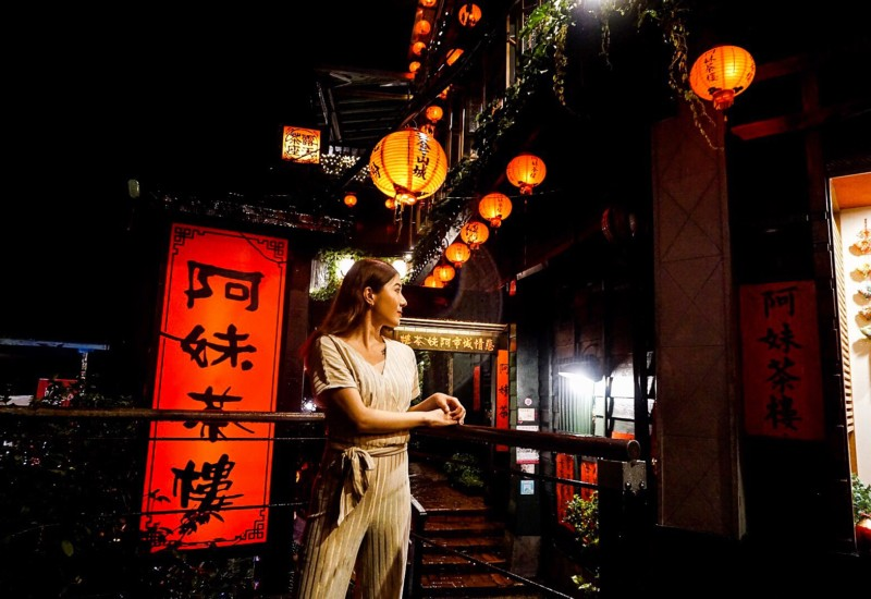 【台湾女子旅レポ】話題の九份、阿妹茶樓でティータイム