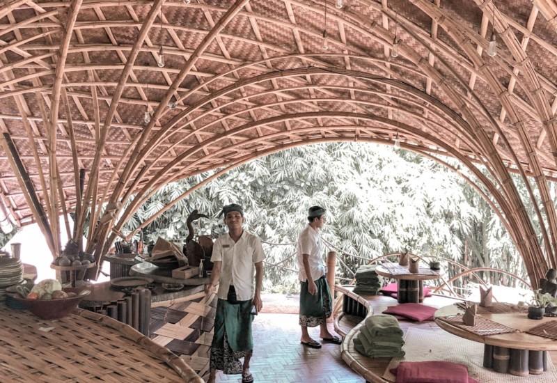 【バリ島】すべてバンブーでできている! サステナブルなウブドのエコホテル 『バンブーインダー』
