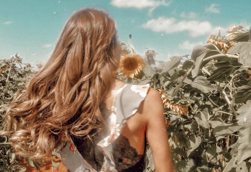 【Australia】満開の向日葵たちに囲まれて♡