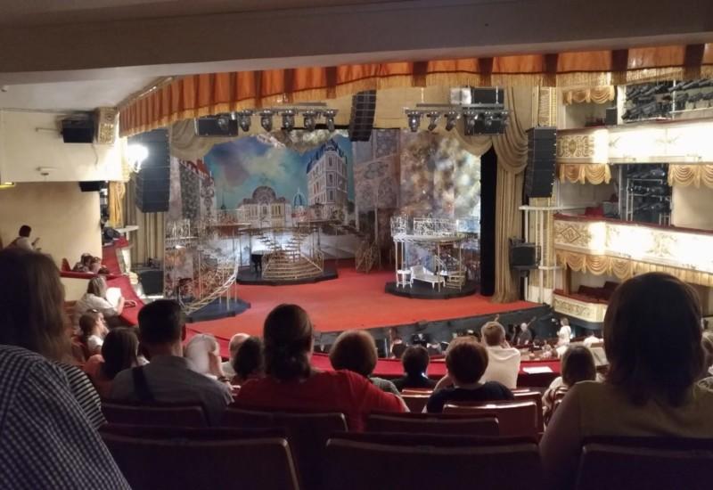 モスクワでミュージカル観劇!