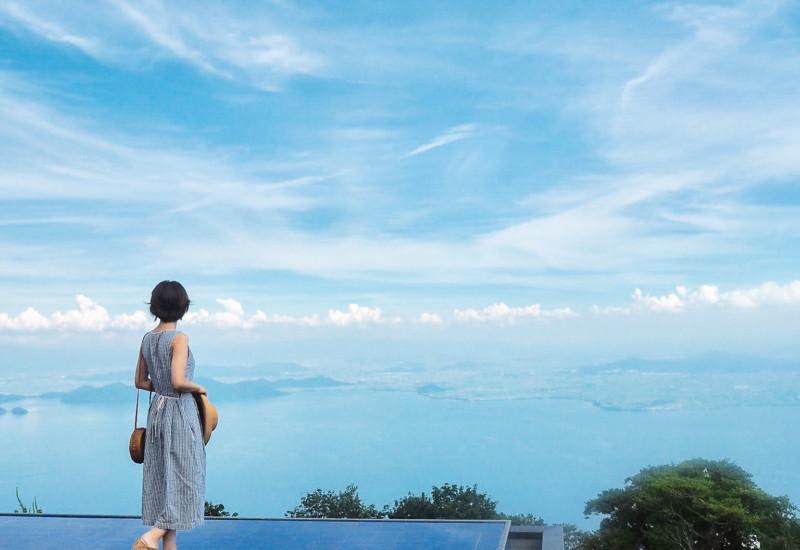【滋賀】夏こそ行きたい!天空のリゾートびわ湖テラスで涼しい休日