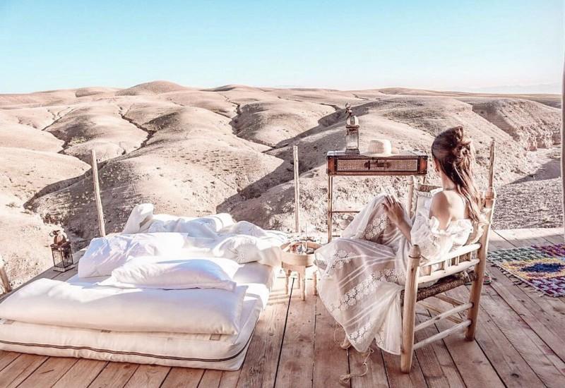 モロッコのAgafay Desert Luxury Campに宿泊すべき6つの理由