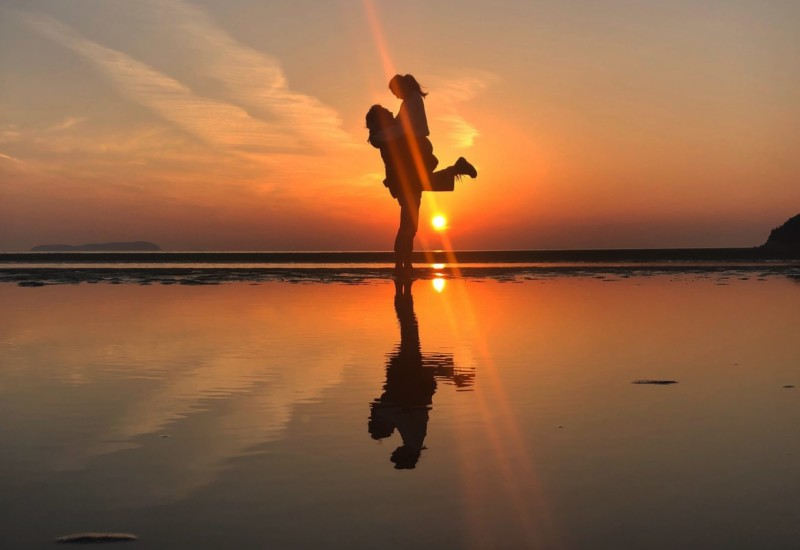 まるで日本のウユニ塩湖!?写真の撮り方【父母が浜】/四国に行くならここには行くべき♡/日帰り香川