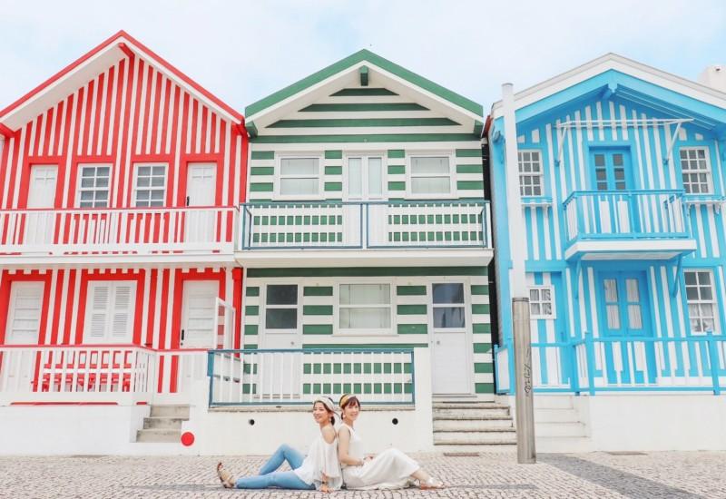 ポルトガル見聞録:海風としましまのコスタノヴァ編