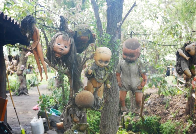 【閲覧注意】メキシコの呪われた人形島