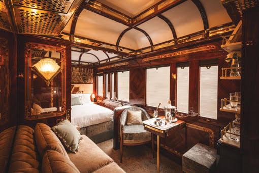 世界の豪華な列車の旅