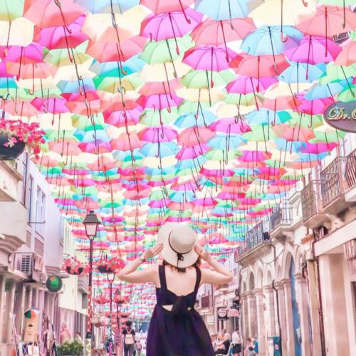 ポルトガル見聞録:空と傘祭りのアゲダ編