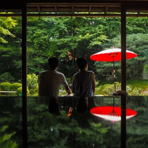 【滋賀】カメラ好き必見!旧竹林院の幽玄なる庭園のリフレクション